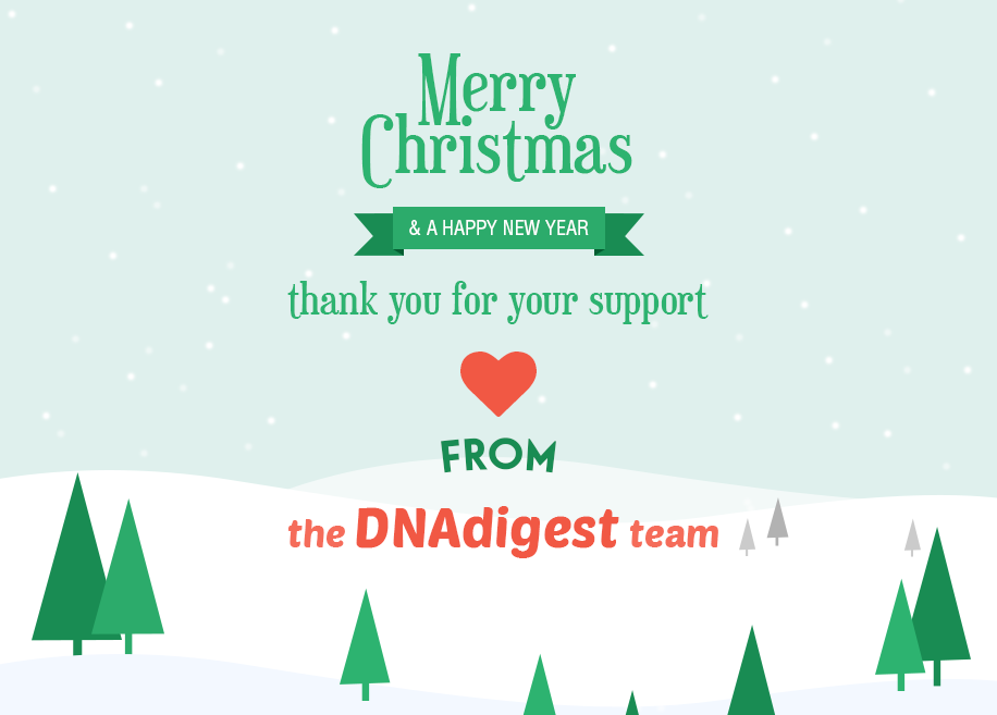 since then nucleobase has rebranded as repositive and the repositive team will continue to contribute to dnadigest through pro bono work and assistance in - Christmas Assistance 2014