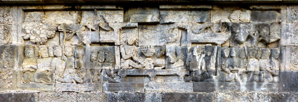 043 S, Siddhartha consenting to a Contest at Borobudur